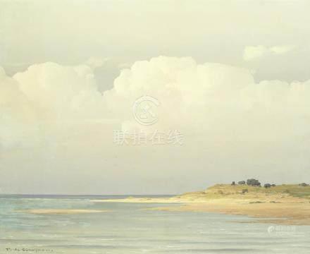 Pierre de Clausade (French, 1910-1976) Golden sands