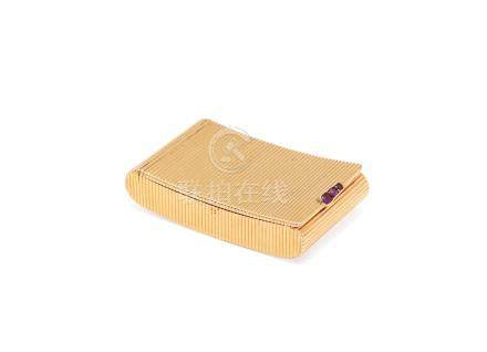 An early 19th century Swiss gold box by Moulinié, Bautte & Cie, Geneva circa 1820