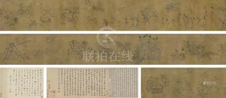 李公麟(款) 刧鉢圖