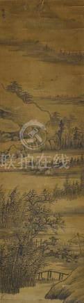 常瑩 (十七世紀) 溪橋晚渡