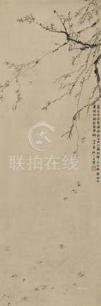 金農 1687-1763 落梅花圖