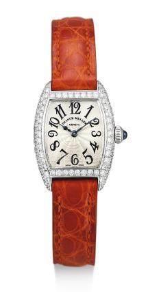2501 MC D型號 白金鑲鑽石腕錶,編號38,年份約2005。
