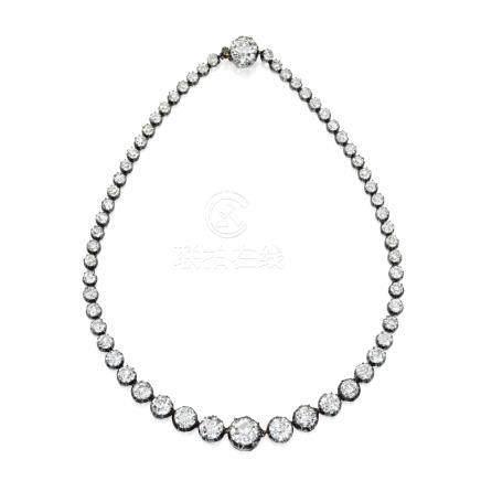 鑽石項鏈, 年份約1870