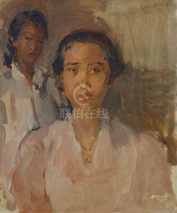 艾薩克·伊斯瑞奧斯 兩位爪哇女子