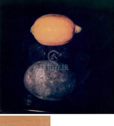 唐纳德·苏尔坦(1951~)  1985年作 Still Life Lemons&Limes 镜框 胶版复印