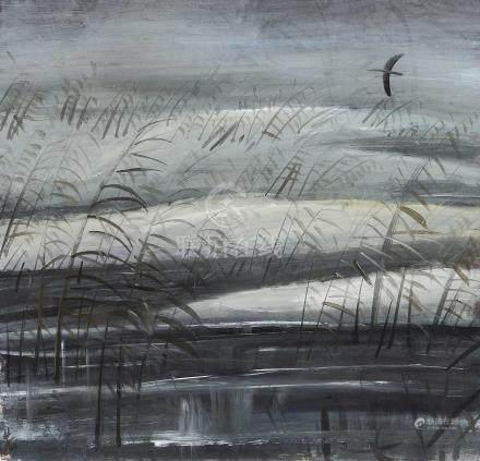 林风眠(1900~1991)  风景 镜心 设色纸本