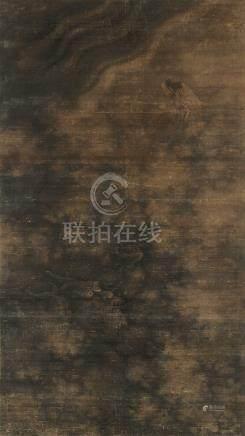 周璕(清) 神龙中堂 立轴 设色绢本