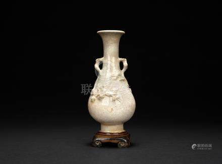 清 石灣花瓶