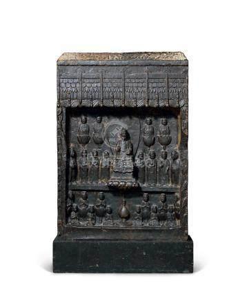隋(604年)佛造像碑