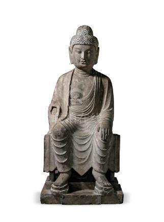 唐弥勒佛倚坐像