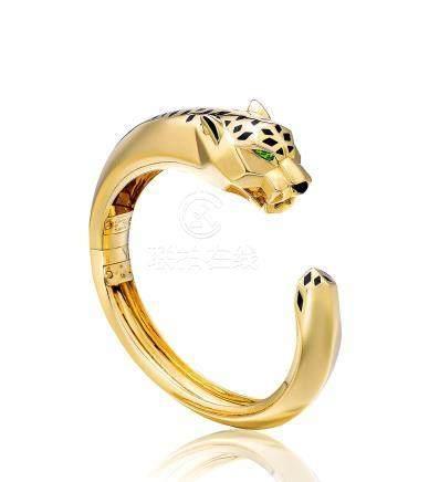 卡地亞設計 「獵豹」手鐲