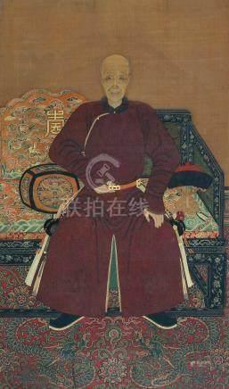 亲王肖像图