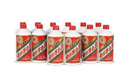 1996年貴州茅台酒(鐵蓋)