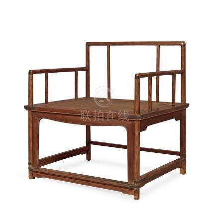 黃花梨禪椅(清末民國)
