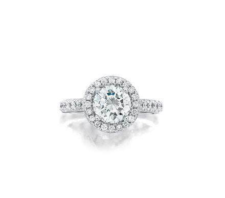 1.24克拉鑽石配鑽石戒指