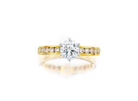 鑽石戒指, 蒂芙尼