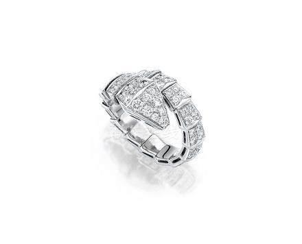 鑽石「Serpenti」戒指, 寶格麗