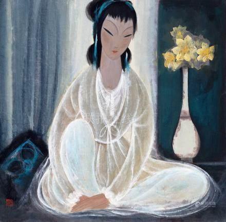 白衣仕女(一九五四年作)