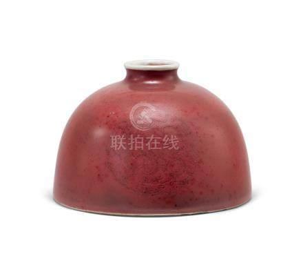 豇豆紅太白尊(清康熙)