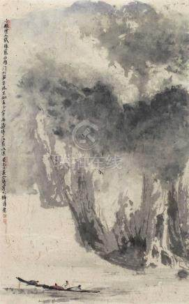 春江小景图