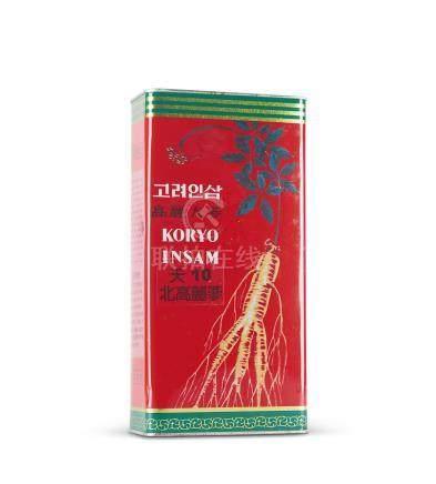 收藏约20年天字10枝北韩高丽参