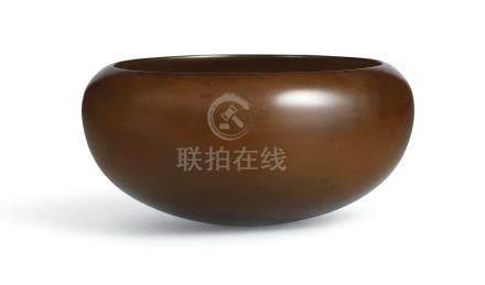 宋   褐漆缽