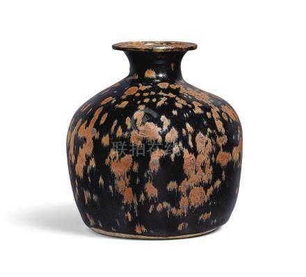北宋   黑釉褐斑吐魯瓶
