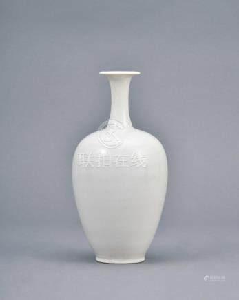 宋  定窑白釉細頸瓶