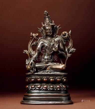 十八世紀 漢藏 銅白度母