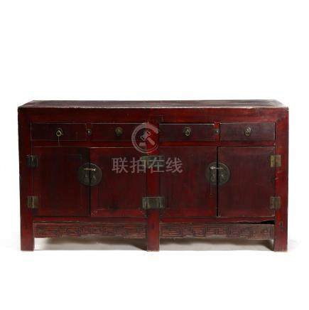 A Chinese Qing Dynasty Buffet Cabinet