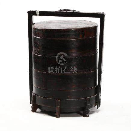 Chinese Round Five Tier Food Container