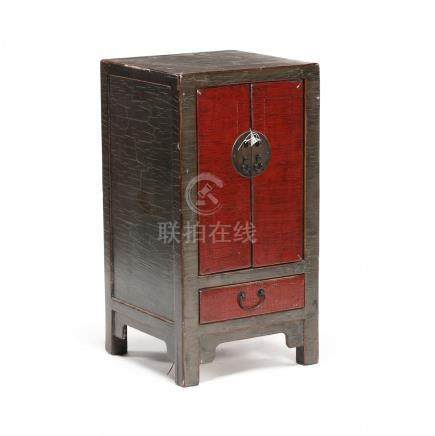 Ming Style Painted Storage Cabinet