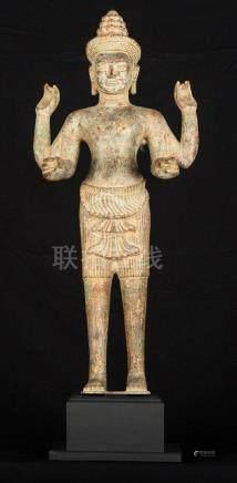 19th Century Vishnu Statue - Protector & Preserver