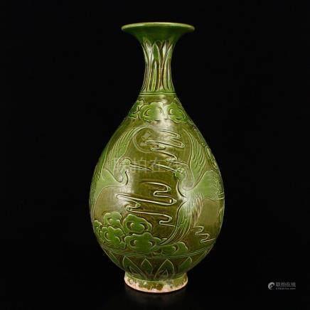 Chinese Song Dynasty Ci Zhou Kiln Porcelain Vase