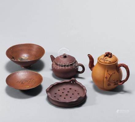 茶具套組 一組五件