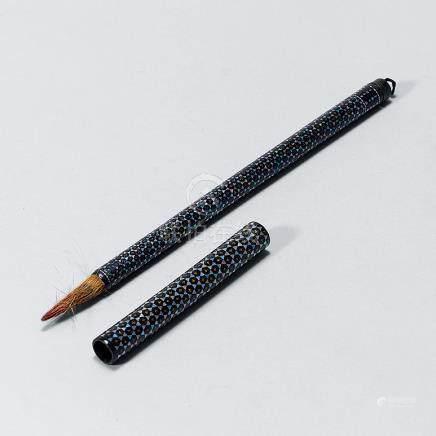 清 大漆螺鈿毛筆