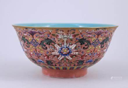 Qing WuCai Porcelain Bowl
