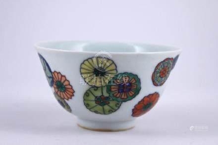Qing Doucai Porcelain Bowl