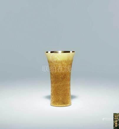 正英作 純金酒杯
