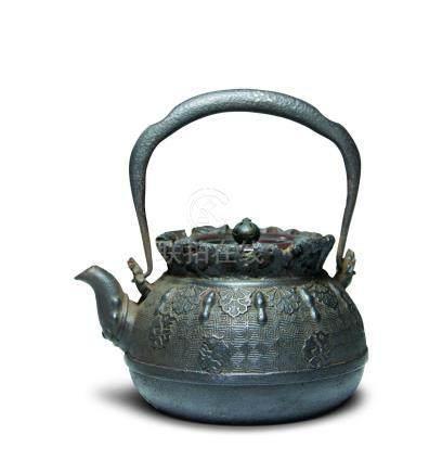 大國造 布袋形鐵壺