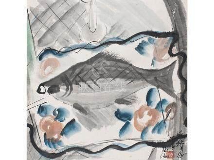 林風眠  魚