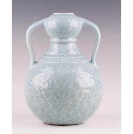 Double Handle Gourd Shaped Vase