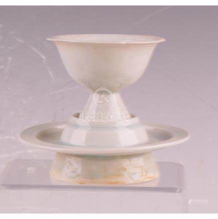 QingBai Cup And Saucer