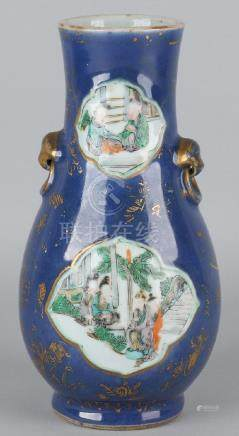 18th - 19th Century Chinese porcelain Family Rose vase