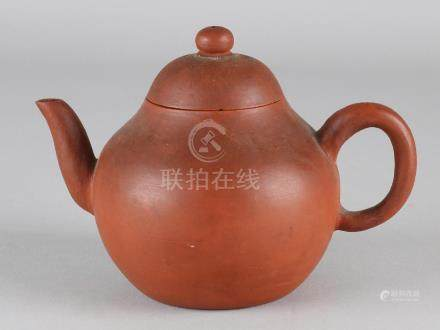 Old / antique Chinese Yixing teapot with floor mark.