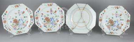 Four times 18th century Chinese Chinese porcelain