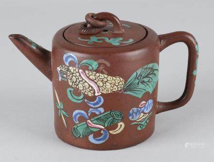 19th Century Chinese Yixing drawing pot with soil mark.