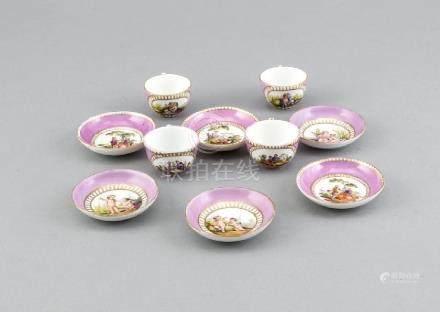 Rare antique German Meissen porcelain children's