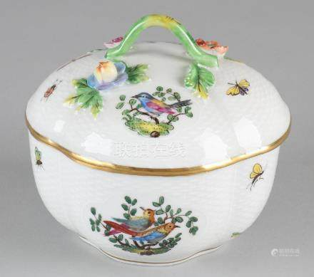 Old German Dresden porcelain box with boxes,