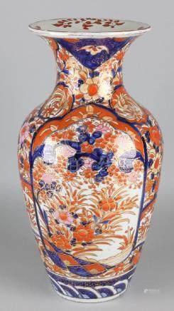 Large 19th century Japanese Imari porcelain ornamental